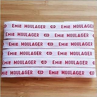 MELI MELOW Lot Etiquettes tissées prénom nom à coudre - tissu personnalisé vintage - ruban nominatif - marque marquage vêt...