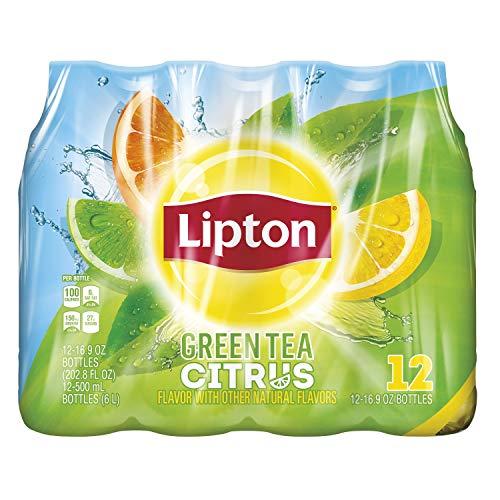 Lipton Green Tea, Citrus Iced, 16.9 Fl Oz (pack of 12)