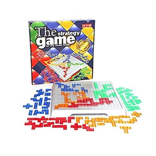 TKMOP-2021 strategie Spiel Blokus Bord Spiel Pädagogisches ToysSquares Spiel Einfach Zu Spielen Für Kinder Serie Indoor Spiele Party Geschenk Kind