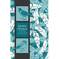 Birder Journal for Recording Birdwatching Adventures in the Outdoors