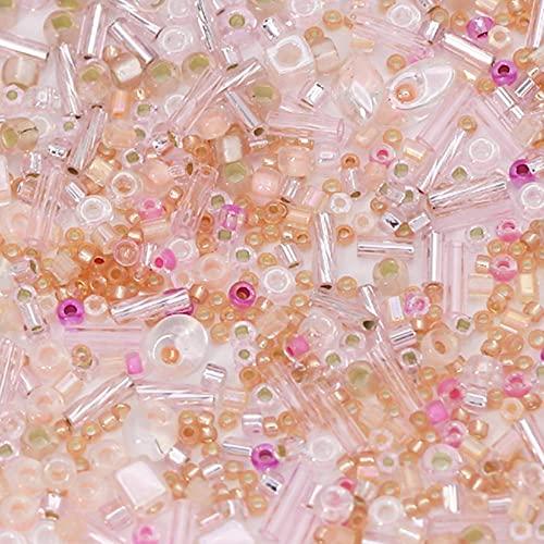 10 g/lote cuentas de Mutilcolor cuentas de semillas japonesas cuentas de cristal de costura cuentas de tejido para pendientes/accesorios de joyería de pulsera-3114