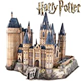 CubicFun Puzzle 3D Harry Potter Torre de la Astronomía de Hogwarts Puzzles 3D Kits de Construcción Maquetas para Construir Adultos Regalo para Niños Adolescentes, 243 Piezas Versión Grande