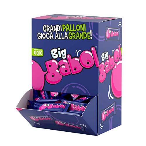 Big Babol Tutti Frutti Chewing Gum Morbido con Succo di Fragola, Senza Glutine, Gusto Tutti Frutti, Confezione da 200 Gomme da Masticare Incartate Singolarmente