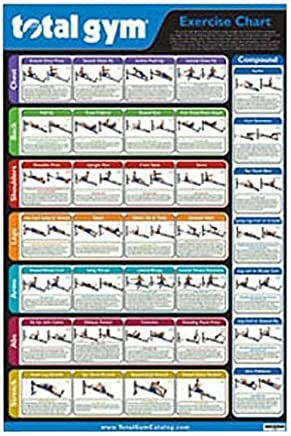 image relating to Printable Total Gym Exercise Chart called : amount of money health and fitness center dvd workout routines
