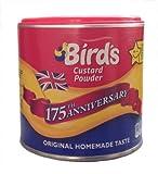 De pájaro natillas en polvo 300g (paquete de 6 x 300g)