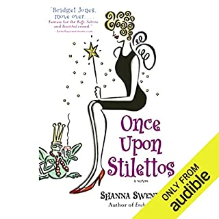 Once Upon Stilettos     A Novel              By:                                                                                                                                 Shanna Swendson                               Narrated by:                                                                                                                                 Eva Wilhelm                      Length: 10 hrs and 54 mins     1,187 ratings     Overall 4.4