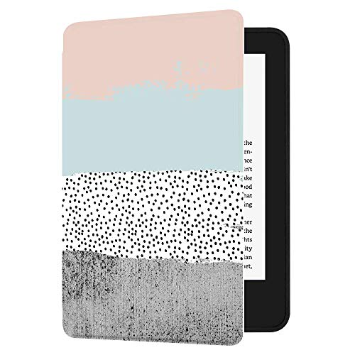 Huasiru Pintura Caso Funda para el Nuevo Kindle (10ª generación - Modelo 2019 - no es aplicable a Kindle Paperwhite o Kindle Oasis) Case Cover, Colores