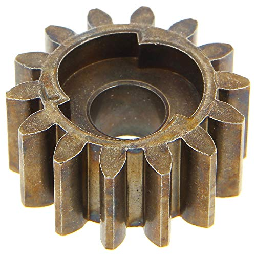 Pignon gauche de roue de tondeuse