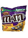 M&M's Dark Chocolate Peanut Family Size 19.2 oz from
