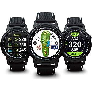 Golf Buddy Aim W10 GPS Watch aim W10 Golf GPS Watch, Black, Medium