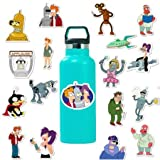 cyk Cartoon Stickers Futurama Toys für die Dekoration zum   Skateboard Koffer 50St