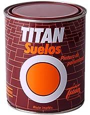 Titan M30727 - Pintura suelo rojo ingles 750 ml