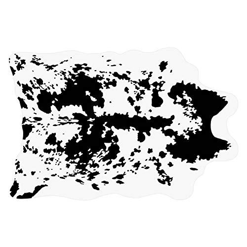NINAINAI Pareti Carta da Parati Divano Letto 3D Teppichaufkleber Teppichaufkleber Wohnzimmer Schlafzimmer Fliesenaufkleber (Color : Black 2, Size : 80x120cm)