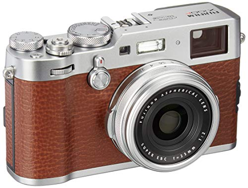 Learn More About Fujifilm X100F 24.3 MP APS-C Digital Camera - Brown