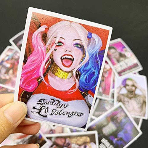 BAIBEI Aufkleber Pack, Aufkleber, Anime Sticker, Autoaufkleber, Wasserdichter Vinyl-Aufkleber, Graffiti-Stil, Sticker Set für Motorräder, Fahrräder, Skateboards, DIY-Partybedarf(52 Stück)