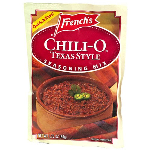 French's Chili-O Texas Style Overseas parallel import regular item 1.75-Ounce Fashion Mix Seasoning Packets