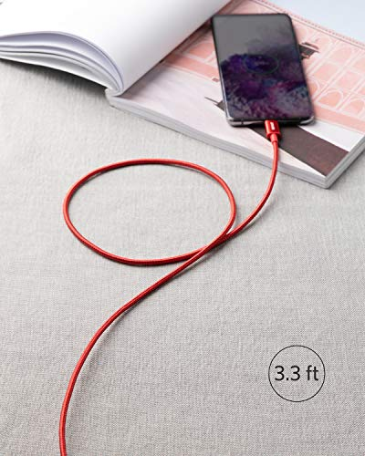 Anker New Nylon USB-C auf USB-C Ladekabel 1m Länge, Doppelpack, mit Power Delivery für MacBook Pro 2020, iPad Pro, Galaxy S20, Switch, Pixel, LG und USB-C Ladegeräte