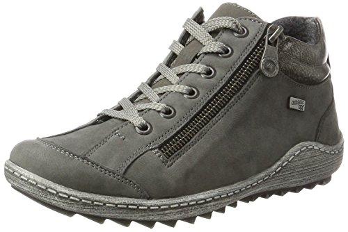 Remonte Damen R1483 Sneaker, Grau (Gris/Altsilber/Fumo 45), 38 EU