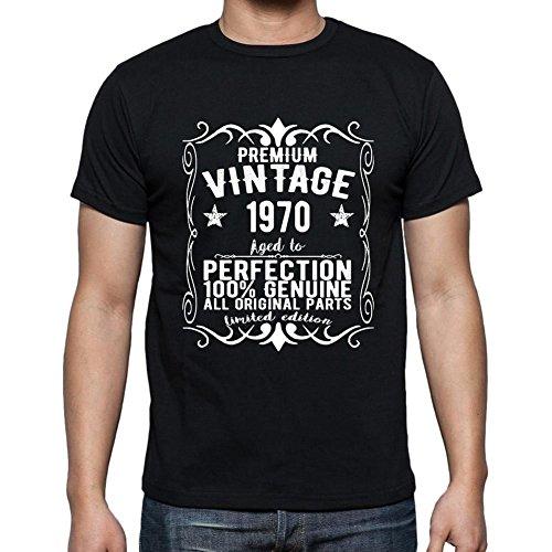 Premium Vintage Year 1970 Cumpleaños de 51 años, Regalo cumpleaños Hombre, Camisetas Hombre cumpleaños, Vendimia Prima Camiseta Hombre, Camiseta Regalo, Regalo Hombre