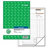 Sigel RE525 - Formulario de ventas y facturas (A5, 2 x 50 hojas), blanco