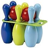 Jouets Ecoiffier -157 - Jeu de bowling 6 quilles 23 cm – Jeu de plein air pour enfants – Dès 18 mois – Fabriqué en...