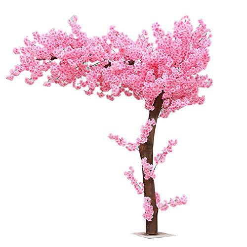 Roze Kunstmatige Kersenbloesem Bomen Lichtroze Kersenbloesem Boom Boog Roze Nep Sakura Bloem Indoor Outdoor Home Office Party