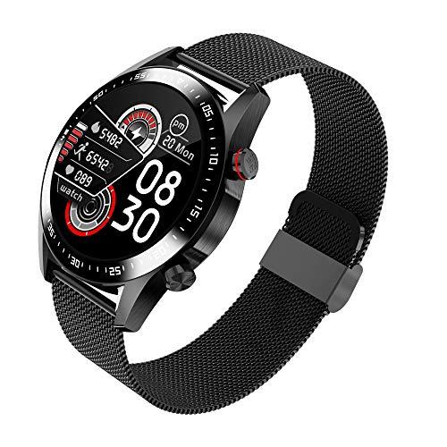AYZE Reloj Deportivo Hombre con GPS Pantalla IPS De 1,28', Batería De 240 mAh, 8 Modos De Ejercicio, Monitorización del Sueño/Ejercicio, Conexión Bluetooth, CronóMetro, Relojes Inteligentes Hombre 3