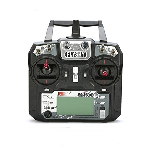 Flysky FS-i6X 6-10(Default 6)CH 2.4GHz AFHDS RC Transmitter w/ FS-iA6B Receiver