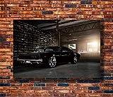 Surfilter HD Pósters e impresiones Dodge Charger 1969 Rápido y furioso Arte de la pared Cartel Lienzo Pintura Decoración del hogar 60x90cm 24x36 pulgadas Sin marco
