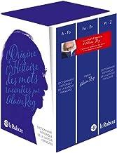 Dictionnaire Historique de la langue française - coffret 3 volumes - nouvelle édition augmentée (HISTORIQUE 3 VOLUMES COMPACT) (French Edition)