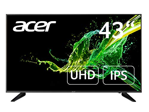Acer DM1 Series (DM431K) 109 cm (43 Zoll) IPS Monitor (VGA, HDMI(2.0), 2xHDMI(1.4), DP, Audio Out, UHD 3840x2160, 5ms (G2G), 60Hz, 250 Nits)