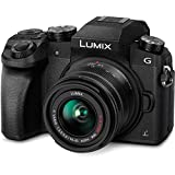 Panasonic LUMIX G7 16.00 MP 4K Mirrorless Interchangeable Lens Camera Kit with 14-42 mm Lens (Black)