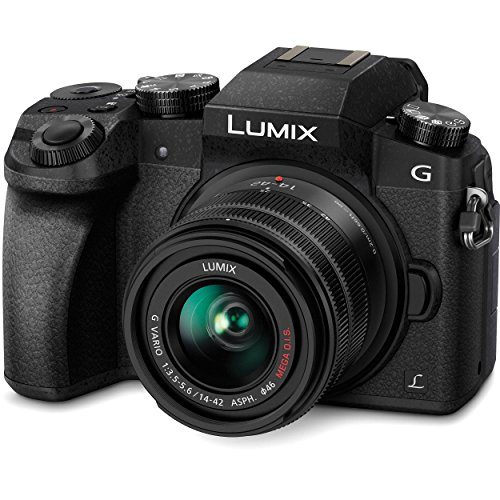 Panasonic LUMIX G7 16.00 MP 4K Mirrorless Interchangeable...