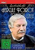 Agatha Christie: Hercule Poirot-Collection (Mord à la Carte + Mord mit verteilten Rollen + Tödliche Parties) (Pidax Film-Klassiker) [3 DVDs] [Alemania]