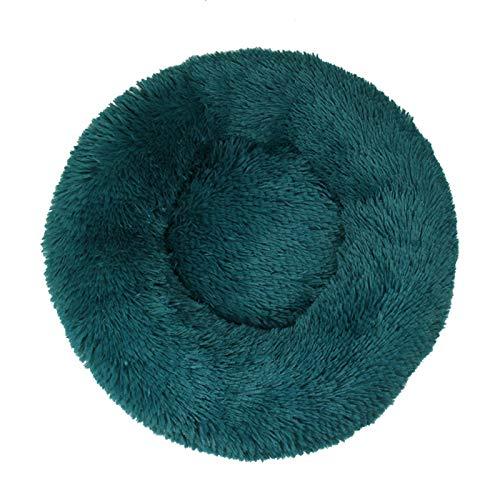 Cama redonda para gatos y gatos, suave y larga, para mascotas, ideal para perros, cesta de productos de mascotas, cojín para gatos o mascotas (color: 3, tamaño: 40 cm)