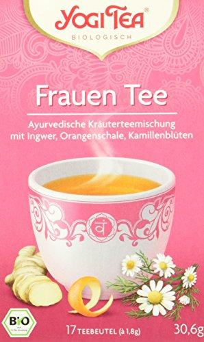 Yogi Tea Frauen Tee Bio, 3er Pack (3 x 31 g)