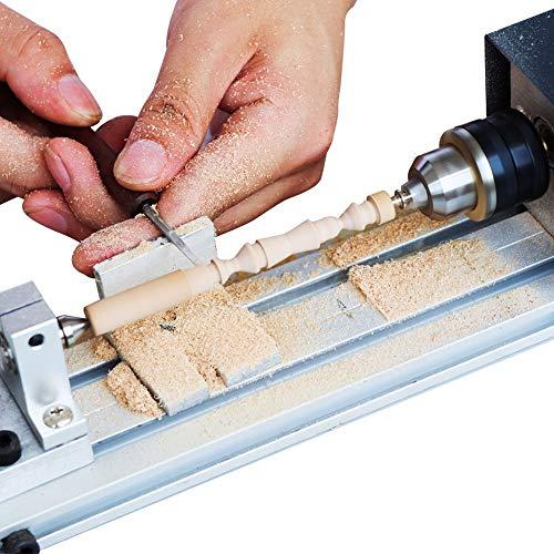 Mini draaibank kralen Polijstmachine, Polijsten & Afwerking Kits voor Tafel Houtbewerking Hout DIY Tool draaibank