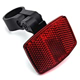 DEMY Red Rear Bicycle Reflector