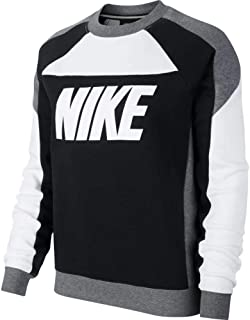the latest bd20b ee73d Nike W NSW Crew FLC CB - Sweat-Shirt - Femme
