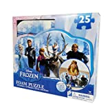 Frozen Foam Puzzle (25-Piece) Styles Will Vary