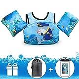 Jevdes Badeanzug, für Kleinkinder, Badeweste, für Kinder, Captain Dolphin
