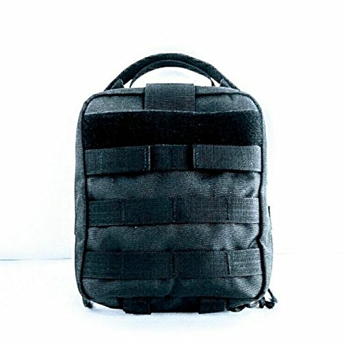 Survival Kit Utility Kit Best EDC Bag Pack ACW Macgyver Ultimate Ultimate Fully Loaded Black