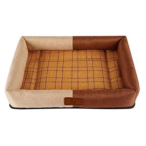 mdtep Cama para mascotas de verano para perros, cómoda y duradera, lavable (color: C, tamaño: S)