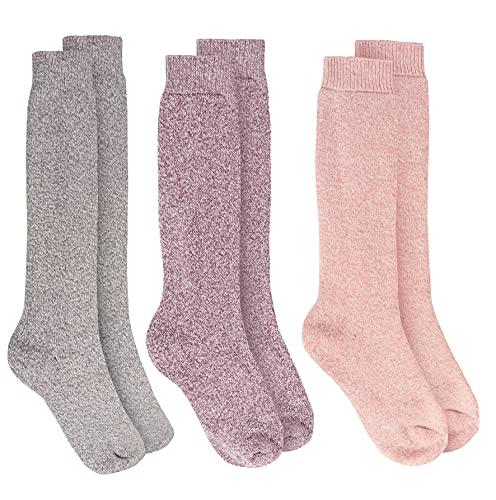 Sock Stack 3 par Wellington kängstrumpor för kvinnor originalet Wellington Wellie socka Storbritannien storlek 4-8