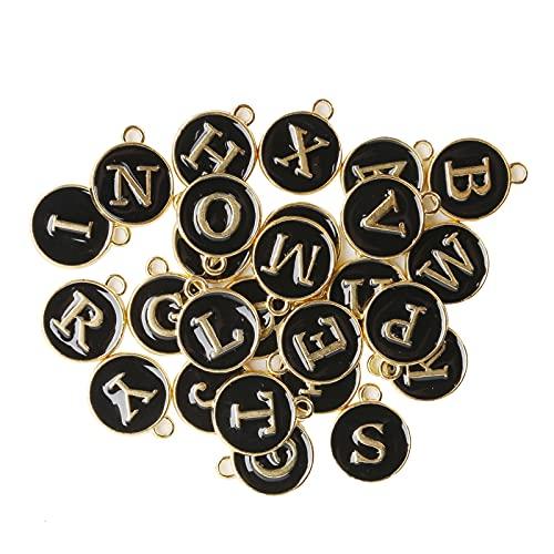A-Z Letra Encanto DIY Colgantes Aleación 26 Letras Inglesas Accesorios Colgantes Alfabeto para Bisutería Decoracion Regalo