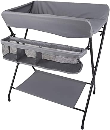 LNDDP Changing Table Adjustable Baby  Foldable Diaper Station for Newborn Babies and Infant  Cross Leg Style  color Style1