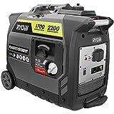 Ryobi Digital Inverter Generator (2,200-Watt Gray RYi2200GR)