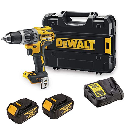 DEWALT DCD796M2 DCD796N 18v XR Brushless Combi Drill 2X 4Ah DCB182 Batteries, 18 V