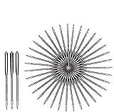 100pcs agujas para máquina de coser, agujas de máquina universales utilizadas para máquinas de coser Singer, Brother, Janome, Varmax, tamaños 65/9, 75/11, 90/14, 100/16, 110/18