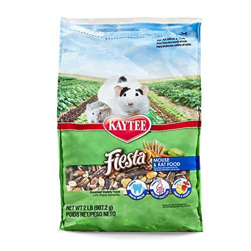 Kaytee Fiesta Mouse And Rat Food, 2-Lb Bag